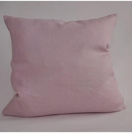 Rosa kuddfodral 50x50