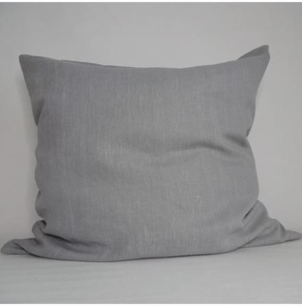 Gråblått kuddfodral 70x70