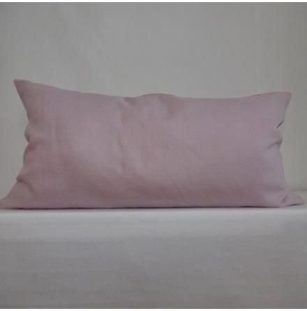 Rosa kuddfodral 50x90