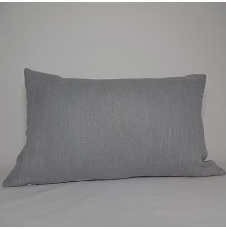 Gråblått kuddfodral 40x60