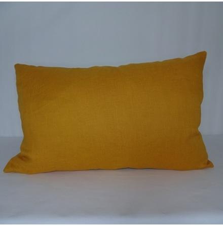 Orange kuddfodral 40x60