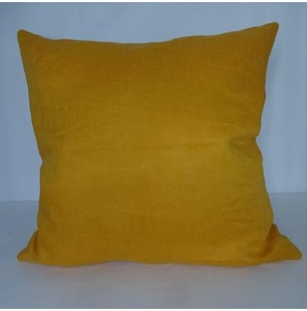 Orange kuddfodral 50x50