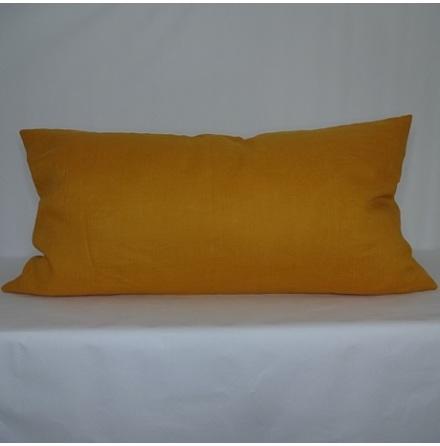 Orange kuddfodral 50x90